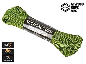 Εικόνα της Σχοινί Paracord 275 Cord 30m Neon Yellow & Black Stripes