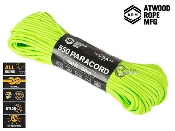 Εικόνα της Σχοινί Paracord 550 30m Neon Green